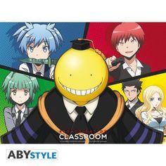 ASSASSINATION CLASSROOM Poster Assassination Classroom Koro VS élèves
