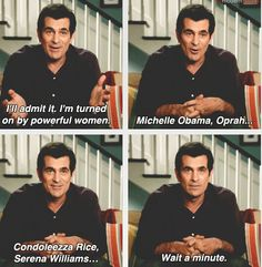 I'll admit it. I'm turned on by powerful women. Michelle Obama, Oprah... Condolezza Rice, Serena Williams. Wait a minute.....