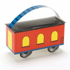Caboose Empty Favor Boxes (4 count) by Unknown. $8.99. Includes 4 empty favor boxes. Each measures 6    wide x 4    high x 3    deep. This is an officially licensed Thomas the Tank Engine (tm) product.