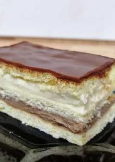 Hungarian Cake, Hungarian Recipes, Sweet Desserts, Delicious Desserts, Yummy Food, Cookie Recipes, Dessert Recipes, Cakes And More, Chocolate Desserts