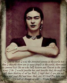 Frida Kahlo Print Instant Digital Download Quote por ARTDECADENCE