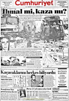 Cumhuriyet gazetesi 18 çubat 1993