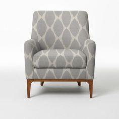 Sloan Upholstered Chair Prints West Elm Upholstered