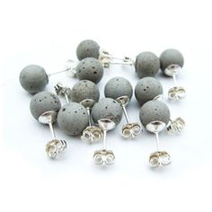 cement pearls...on a dangling chain please!