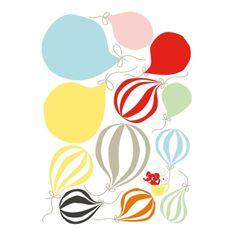 Balloons Wallsticker   Littlephant