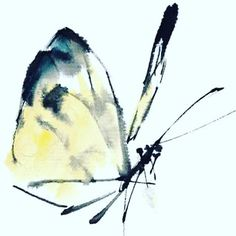 traditional Chinese painting butterfly by on DeviantArt Butterfly Painting, Butterfly Watercolor, Butterfly Art, Watercolor Art, Butterflies, Chinese Butterfly, Japanese Painting, Chinese Painting, Japanese Art