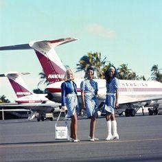 Hawaiian Airlines Flight Attendants