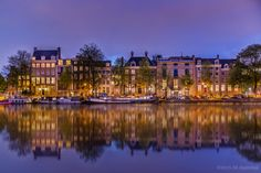Amsterdam Canal Houses by Mo Ajammal on 500px