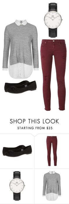 """""""Outfit Idea by Polyvore Remix"""" by polyvore-remix ❤ liked on Polyvore featuring Rocket Dog, IRO, Daniel Wellington, Topshop, women's clothing, women's fashion, women, female, woman and misses"""