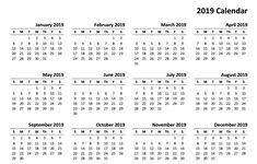 2019 printable calendar templates onlinedownload 2019 printable calendar
