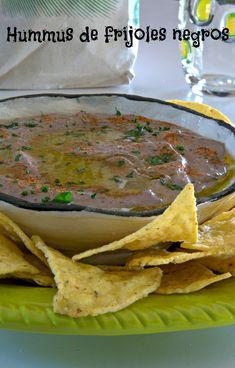 Hummus de frijoles negros a la cubana #CocinaconVero #Fusion #ComidaCubana