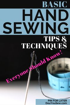 Sewing machines are taking over and the art of hand sewing slowly sinks into oblivion. Or maybe not? I have to admit that I get a little bit nostalgic when it comes to hand sewing. After all, sewing is one of the oldest human crafts. Sewing clothes and other useful and practical items has always been not just popular, but necessary. #sewingtips #handsewing #sewingforbeginners #sewing101 #sewingbeginners #learntosew #sewingbyhand #sewbyhand #handsewingtips