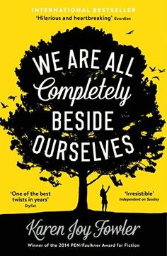 We Are All Completely Beside Ourselves by Karen Joy Fowler, http://www.amazon.com/dp/B00EZTLN62/ref=cm_sw_r_pi_dp_v1CVtb0S0R9MS