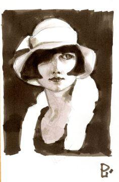 Louise Brooks, Stars, People, Women, Sterne, People Illustration, Star, Folk
