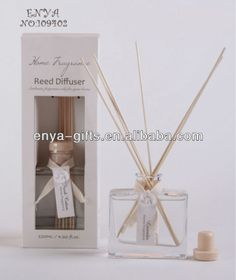 100ml home fragrance reed clay glass bottle reed diffuser