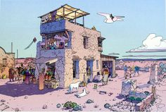 Morning (Limited Edition Print) art by Moebius (Jean Giraud)