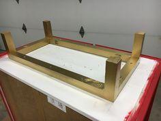 DIY Ikea Ivar cabinet makeover - attach a new base