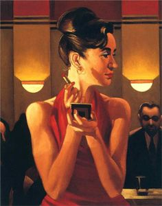 Jack Vettriano - Working the Lounge