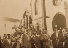 Antigua foto Semana Santa de MÁLAGA