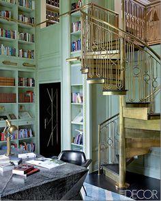golden spiral stairs