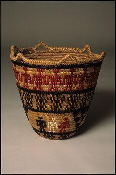 indigenousdialogues:    Basket by Nettie Jackson, Klickitat Weaver (by Washington State Folk Arts)