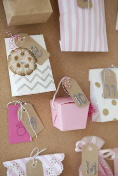 """Unique Bridal Shower Gift // how to make a darling """"Wedding Advent Calendar"""" for your bestie to unwrap and celebrate the days leading up to her wedding day!"""