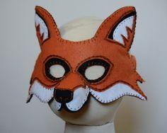 Fox Mask PDF Pattern by oxeyedaisey on Etsy https://www.etsy.com/listing/110143021/fox-mask-pdf-pattern