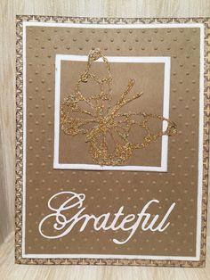 Grateful Card//Blessed Card//Handmade Cards  Pick 1 by MyArtLyfe