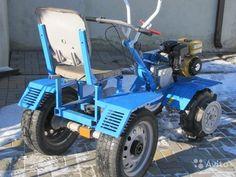 Мини-трактор — фотография №3