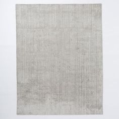 Hand-Loomed Shine Rug - Silver 9x12 ($1,299) 8x10 ($899) 6x9 ($599)