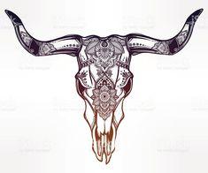 """Résultat de recherche d'images pour """"mexican bull skull"""""""