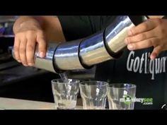 Flair Bartending - Shot Pouring Technique - YouTube