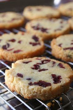 Sables amandes cranberries