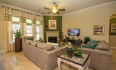Living room: Brookstone and Lakeside Collections