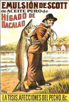 El aceite de hígado de bacalao es una fuente natural de vitaminas.. Una firma neoyorquina de químicos farmacéuticos –Scott & Bowne- empezó a comercializarlo en los Estados Unidos bajo el nombre de Emulsión de Scott hace más de 70 años..