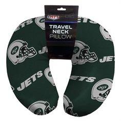 New York Jets NY Neck Pillow