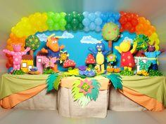 Decoração de festa infantil Backyardigans