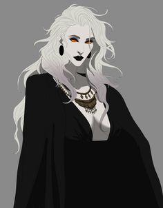 Aradia the Witch, by BanishedPotato Dnd Characters, Fantasy Characters, Female Characters, Character Concept, Character Art, Concept Art, Dark Fantasy, Fantasy Art, Wie Zeichnet Man Manga
