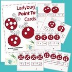 Kindergarten Math Center Game  Math Center  Basic Operations  Math Activity  Printable  Printable Math Activity  Teachers Resources  Ladybug