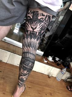19 Ideas tattoo leg lion The post 19 Ideas tattoo leg lion appeared first on Best Tattoos.