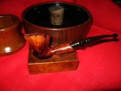 Beautiful Tim West  freehand estate pipe by OsanyinPipes on Etsy, $75.00