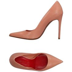 2990efe8dc Aldo Castagna Court (1,425 GTQ) ❤ liked on Polyvore featuring shoes, pumps,  salmon pink, stiletto heel shoes, leather pumps, animal shoes, stilettos  shoes ...