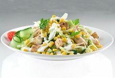 Top 13+1 teljes értékű saláta Veggie Recipes, Salad Recipes, Healthy Recipes, Healthy Foods, Hungarian Recipes, Potato Salad, Food Porn, Food And Drink, Healthy Eating