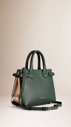 The Small Banner in Leather and House Check The Smalls, Smooth Leather,  Beautiful Bags 382e2bc27dd