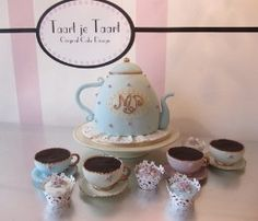 High tea. All is cake