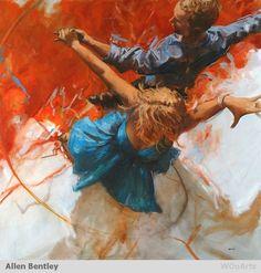 By Artist Painter Allen Bentley