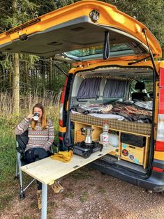 17 Most Popular Easy DIY RV Camping Tool Ideas That You Need To Prepare - Travel until I can't no more - The Effective Pictures We Offer You About van life ideas A quality picture can tell you many thing - Auto Camping, Camping Diy, Camping Tools, Truck Camping, Camping Hacks, Camping Ideas, Minivan Camping, Outdoor Camping, Camping Checklist