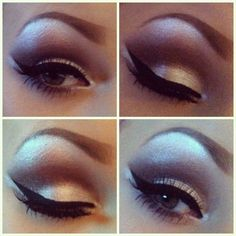 Beautiful eye makeup. Topshop prom queen