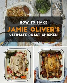 How To Make Jamie Oliver's Ultimate Roast Chicken