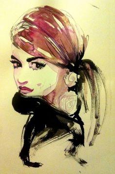 Fashion Human Sketch, Sketches, Illustrations, Artist, Anime, Fashion, Drawings, Moda, La Mode
